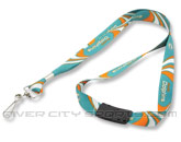 SUBLIMATED LANYARD in MIAMI DOLPHINS Found in: NFL > MIAMI DOLPHINS > Souvenirs > Keychains