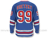 CCM HEROES OF HOCKEY JERSEY - GRETZKY in NEW YORK RANGERS Found in: NHL > NEW YORK RANGERS > Jerseys > Semi-Pro