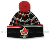 PLAID 100TH KNIT in CANADA Found in: INTERNATIONAL > Canada > Clothing > Hats