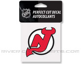 PERFECT CUT COLOR DECAL in NEW JERSEY DEVILS Found in: NHL > NEW JERSEY DEVILS > Souvenirs > Stickers