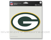 pic# 192083, style# NFLCLRDC8GRE for River City Sports product in: NFL > GREEN BAY PACKERS > Souvenirs > Stickers