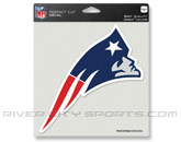 pic# 192086, style# NFLCLRDC8NEP for River City Sports product in: NFL > NEW ENGLAND PATRIOTS > Souvenirs > Stickers