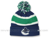 FLEECE LINED POM KNIT in VANCOUVER CANUCKS Found in: NHL > VANCOUVER CANUCKS > Clothing > Hats