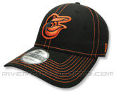 3930 BLACK NEO CAP in BALTIMORE ORIOLES Found in: MLB > Baltimore Orioles > Clothing > Hats