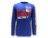 DOUBLE SHIFT LONG SLEEVE SHIRT in NEW YORK RANGERS Found in: NHL > NEW YORK RANGERS > Clothing > T-Shirts