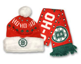 FROSTY KNIT/SCARF SET in BOSTON BRUINS Found in: NHL > BOSTON BRUINS > Clothing > Hats