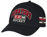 PRACTICE STRUCTURED ADJUSTABLE CAP in OTTAWA SENATORS Found in: NHL > OTTAWA SENATORS > Clothing > Hats