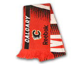 CENTER ICE JACQUARD SCARF in CALGARY FLAMES Found in: NHL > CALGARY FLAMES > Clothing > Accessorie