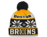 JACQUARD KNIT WITH POM in BOSTON BRUINS Found in: NHL > BOSTON BRUINS > Clothing > Hats