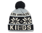 JACQUARD KNIT WITH POM in LOS ANGELES KINGS Found in: NHL > LOS ANGELES KINGS > Clothing > Hats
