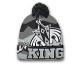 STADIUM KNIT WITH POM in LOS ANGELES KINGS Found in: NHL > LOS ANGELES KINGS > Clothing > Hats