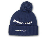 LADIES SEQUIN KNIT WITH POM in TORONTO MAPLE LEAFS Found in: NHL > TORONTO MAPLE LEAFS > Clothing > Hats