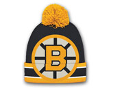 BIG LOGO KNIT WITH POM in BOSTON BRUINS Found in: NHL > BOSTON BRUINS > Clothing > Hats