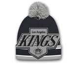 BIG LOGO KNIT WITH POM in LOS ANGELES KINGS Found in: NHL > LOS ANGELES KINGS > Clothing > Hats