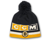 CCM CUFFLESS KNIT POM in BOSTON BRUINS Found in: NHL > BOSTON BRUINS > Clothing > Hats
