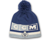 CCM CUFFLESS KNIT POM in TORONTO MAPLE LEAFS Found in: NHL > TORONTO MAPLE LEAFS > Clothing > Hats