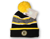 2015 POM TOQUE WITH LOGO in BOSTON BRUINS Found in: NHL > BOSTON BRUINS > Clothing > Hats