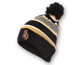2015 POM TOQUE WITH LOGO in OTTAWA SENATORS Found in: NHL > OTTAWA SENATORS > Clothing > Hats