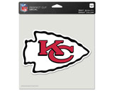 "WINCRAFT 8""X8"" COLOR DIE CUT DECAL in KANSAS CITY CHIEFS Found in: NFL > KANSAS CITY CHIEFS > Souvenirs > Stickers"