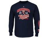 MAJESTIC FLAWLESS VICTORY LS TEE in MINNESOTA TWINS Found in: MLB > Minnesota Twins > Clothing > Shirts