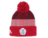 ADIDAS WC16 PLAYER CUFFED POM in CANADA Found in: INTERNATIONAL > Canada > Clothing > Hats