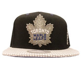 TWO TONE SNAP CAP in TORONTO MAPLE LEAFS Found in: NHL > TORONTO MAPLE LEAFS > Clothing > Hats
