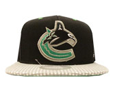 TWO TONE SNAP CAP in VANCOUVER CANUCKS Found in: NHL > VANCOUVER CANUCKS > Clothing > Hats