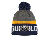 TEAM KNIT W/POM in BUFFALO SABRES Found in: NHL > BUFFALO SABRES > Clothing > Hats