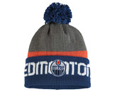 TEAM KNIT W/POM in EDMONTON OILERS Found in: NHL > EDMONTON OILERS > Clothing > Hats