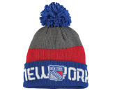 TEAM KNIT W/POM in NEW YORK RANGERS Found in: NHL > NEW YORK RANGERS > Clothing > Hats