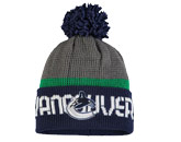 TEAM KNIT W/POM in VANCOUVER CANUCKS Found in: NHL > VANCOUVER CANUCKS > Clothing > Hats