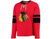 CCM L/S JERSEY CREW SHIRT in CHICAGO BLACKHAWKS Found in: NHL > CHICAGO BLACKHAWKS > Clothing > Shirts