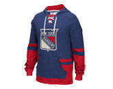 CCM PULLOVER HOODY in NEW YORK RANGERS Found in: NHL > NEW YORK RANGERS > Clothing > Fleece