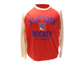 CCM L/S HEATHERED  SHIRT in NEW YORK RANGERS Found in: NHL > NEW YORK RANGERS > Clothing > Shirts