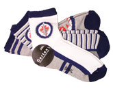 YOUTH SPORT QTR SOCKS in WINNIPEG JETS Found in: NHL > Winnipeg Jets > Clothing > Accessorie
