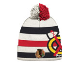 WINTER CLASSIC KNIT /POM in CHICAGO BLACKHAWKS Found in: NHL > CHICAGO BLACKHAWKS > Clothing > Hats