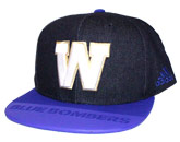 PLAYER FLATBRIM CAP in WINNIPEG BLUE BOMBERS Found in: CFL > Winnipeg Blue Bombers > Clothing > Hats