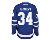 NHL > TORONTO MAPLE LEAFS > Jerseys > MATTHEWS RBK ROYAL