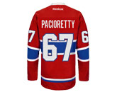 NHL > MONTREAL CANADIENS > Jerseys > PACIORETTY RBK RED