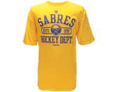 HOCKEY DEPARTMENT SS TEE in BUFFALO SABRES Found in: NHL > BUFFALO SABRES > Clothing > T-Shirts