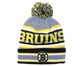 POM POM TOQUE in BOSTON BRUINS Found in: NHL > BOSTON BRUINS > Clothing > Hats