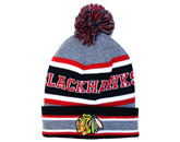 POM POM TOQUE in CHICAGO BLACKHAWKS Found in: NHL > CHICAGO BLACKHAWKS > Clothing > Hats