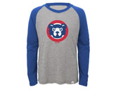 2 TO 1 MARGIN RAGLAN in CHICAGO CUBS Found in: MLB > Chicago Cubs > Clothing > Shirts