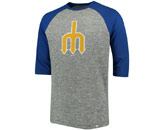 2 TO 1 MARGIN RAGLAN in SEATTLE MARINERS Found in: MLB > Seattle Mariners > Clothing > Shirts
