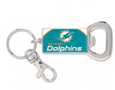 BOTTLE OPENER KEYRING in MIAMI DOLPHINS Found in: NFL > MIAMI DOLPHINS > Souvenirs > Keychains