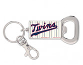 BOTTLE OPENER KEYRING in MINNESOTA TWINS Found in: MLB > Minnesota Twins > Souvenirs > Keychains