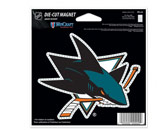 DIE CUT MAGNET in SAN JOSE SHARKS Found in: NHL > SAN JOSE SHARKS > Souvenirs > Magnets