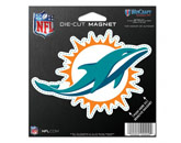 DIE CUT MAGNET in MIAMI DOLPHINS Found in: NFL > MIAMI DOLPHINS > Souvenirs > Magnets
