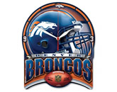 HI DEF PLAQUE CLOCK in DENVER BRONCOS Found in: NFL > DENVER BRONCOS > Souvenirs > Clocks