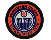 pic# 207262, style# NHLPBKEDM for River City Sports product in: NHL > EDMONTON OILERS > Souvenirs > Pucks